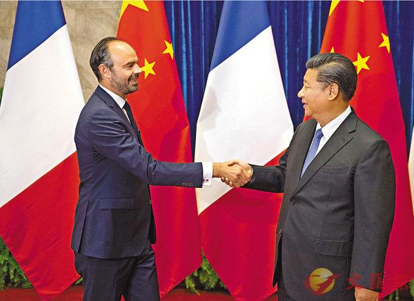 習近平:中法共舉多邊主義旗幟