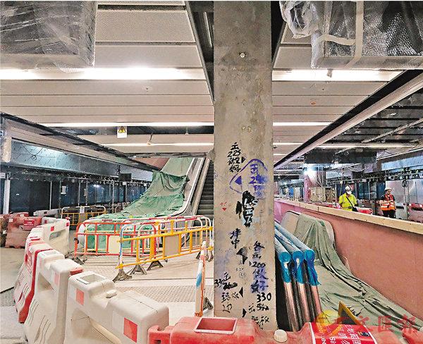 ■港鐵紅磡站地盤。 資料圖片
