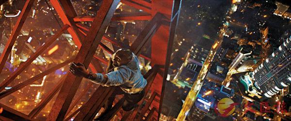 ■電影故事以一座位於香港的摩天大樓作為背景。