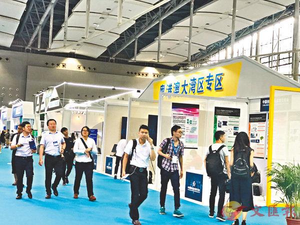 ■2018創交會上中國孵化器50強誕生。 香港文匯報記者胡若璋 攝
