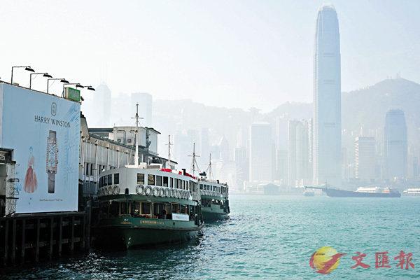 ■香港空氣質素欠佳,天空經常處於灰蒙蒙狀態。          資料圖片