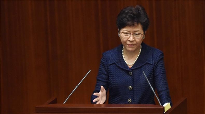 林鄭:有政治決心處理土地問題