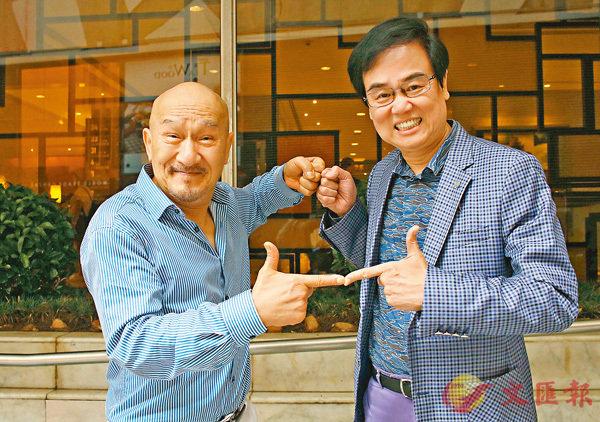 ■麥嘉(左)、黃百鳴(右)兩人由在電影合作,到現在劇場上合作,依舊合拍。  彭子文 攝
