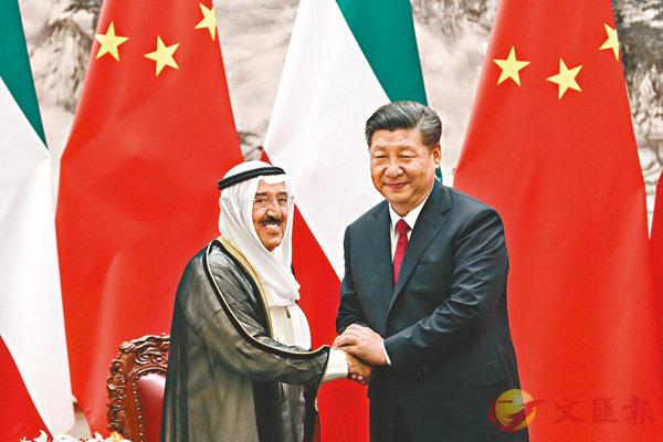 中國科威特建戰略夥伴關係