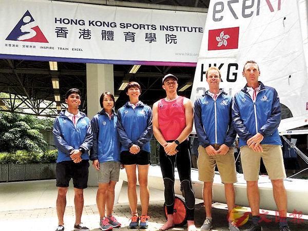 ■香港帆船隊力爭亞運奪獎牌。香港文匯報記者潘志南  攝