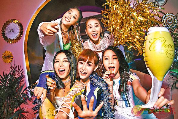 ■Super Girls出道7年間成員關係親密無間。