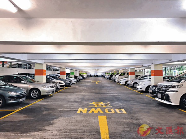■超過380個車位的美松苑停車場對外招標放售。