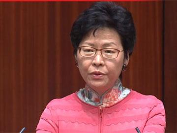 林鄭:貿易戰中無贏家  港府積極應對