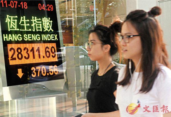 ■美國突然對中國打響貿易戰第二槍,拖累昨日亞洲股匯市場震盪。 中通社