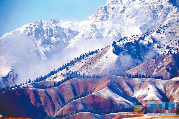 ■ 目前祁連山已查明共有冰川3,066條,是一個巨大的「固體水庫」。 網上圖片