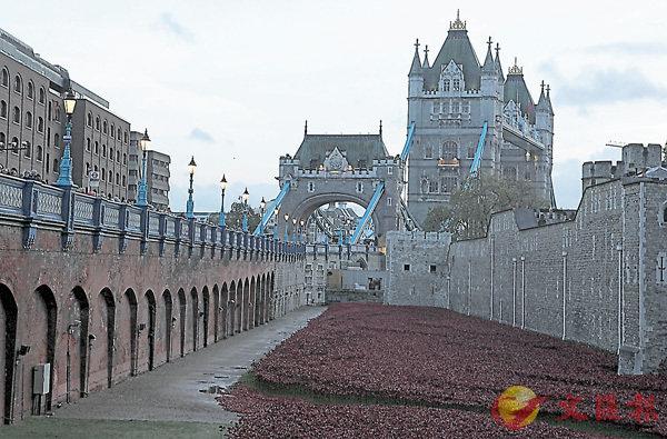 ■倫敦塔被認為與英國國運有關。資料圖片