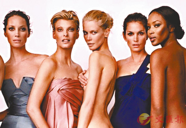 ■左起︰Christy、Linda、Claudia、Cindy及Naomi。  作者提供