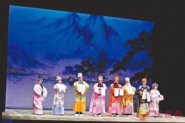 ■八和新秀先演一折粵劇開鑼例戲《 碧天賀壽》。