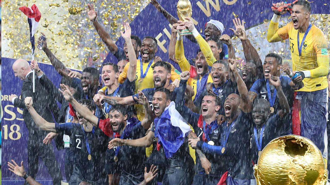 法國4:2挫克羅地亞 重奪世盃