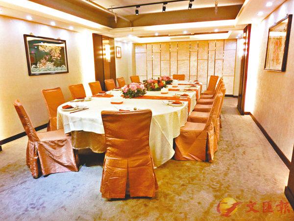 ■香港潮州商會會員俱樂部私房菜,私隱度高的貴賓房。