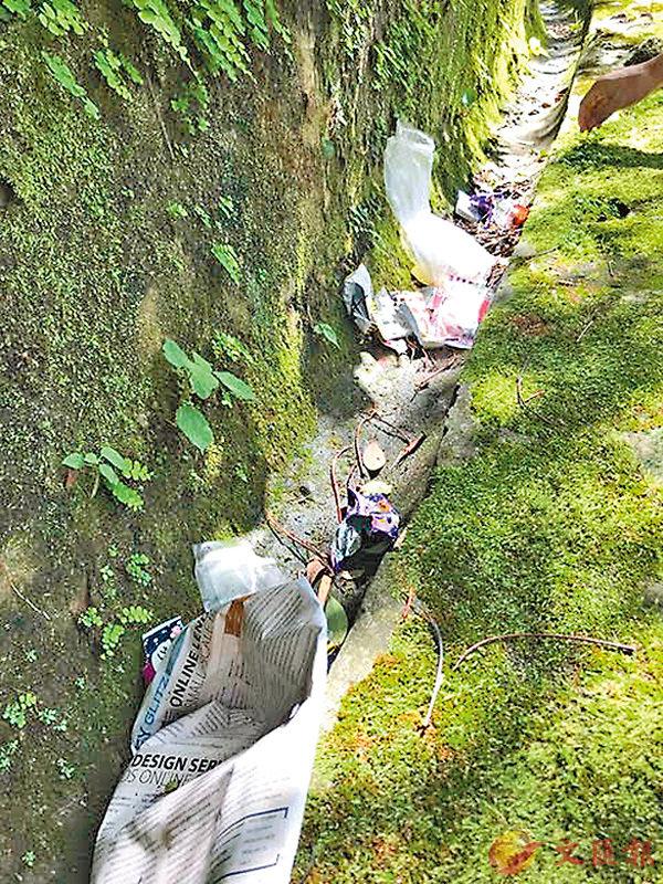 ■Yolanda行山時總是看到很多即棄塑膠垃圾,並發現原來沒有人會去處理。