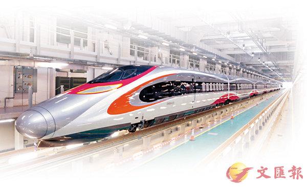 ■廣深港高鐵香港段將如期於今年9月通車。  資料圖片