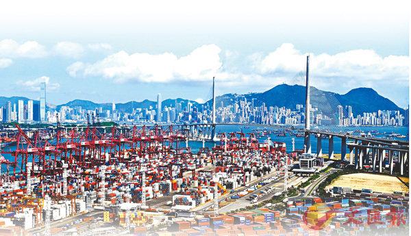 ■中美貿易戰可能升溫,本港出口及轉口貿易恐怕受影響。 資料圖片
