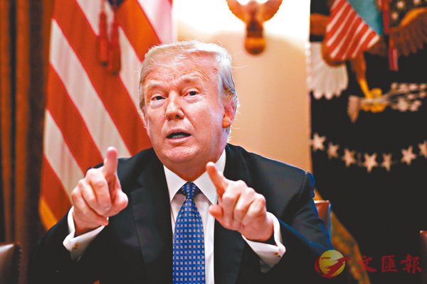 ■美國總統特朗普掀動貿易戰,但美國近期公佈的國內經濟數據仍然理想。 路透社