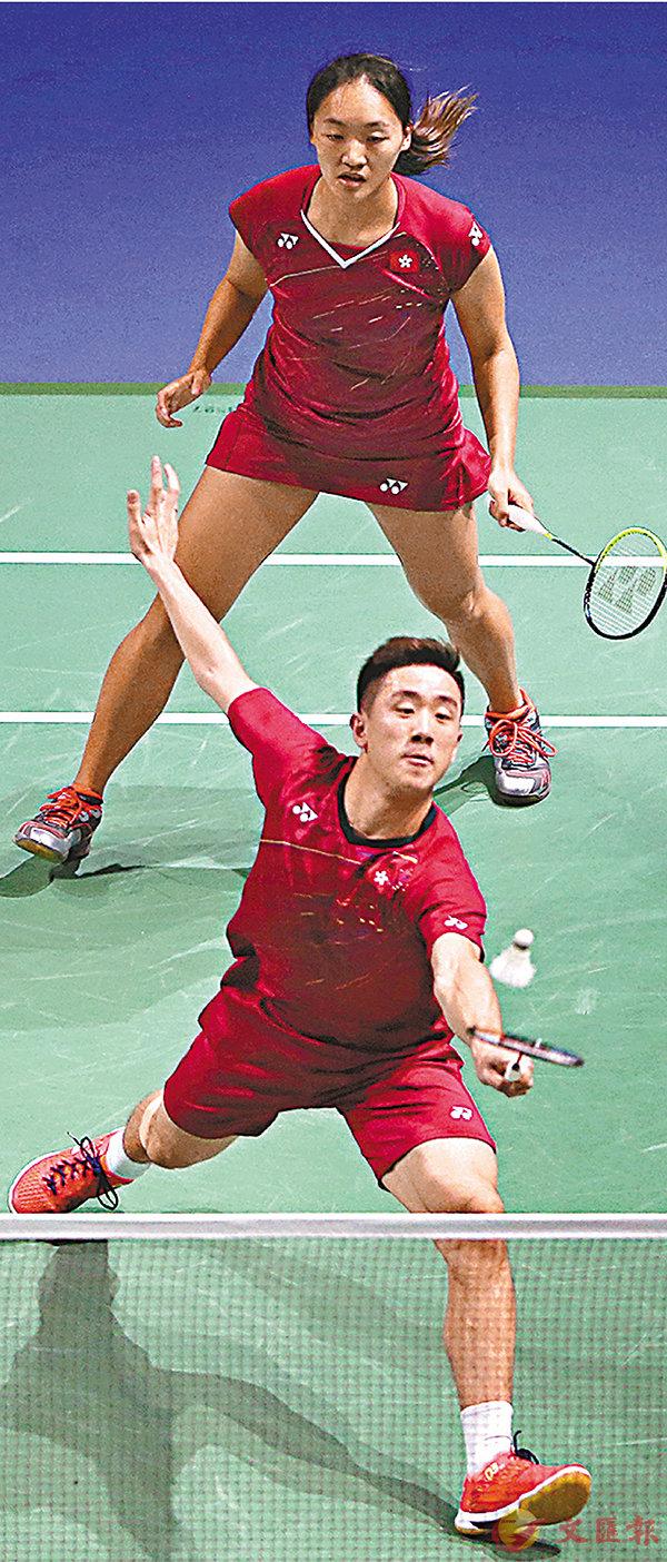 ■鄧俊文(下)/謝影雪打入世羽賽4強。 資料圖片