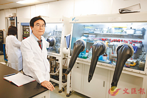■「科研工作是個『One way street(單程路)』,一旦擱下幾年便難以回頭。」正是有這份感悟,汪正平表示自己從不怠慢研究。 香港文匯報記者曾慶威  攝