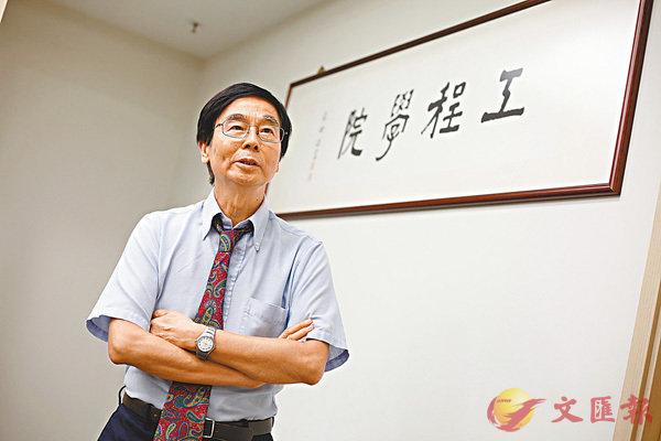 ■汪正平未來會繼續參與深圳先進院的工作。 香港文匯報記者曾慶威  攝