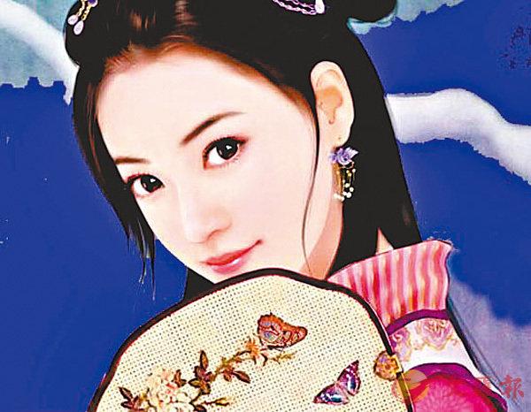 ■畫家幻想的蘇小妹!(網上截圖) 作者提供