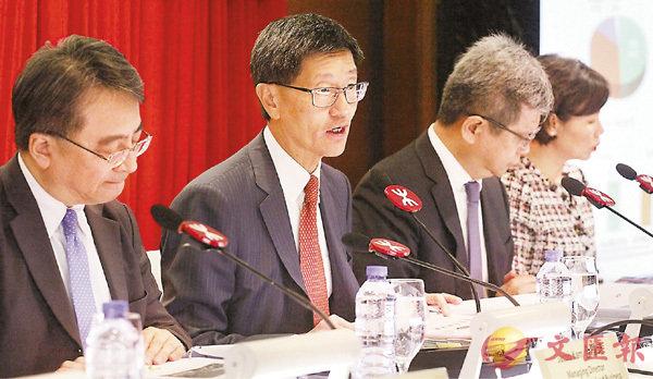 ■梁國權再次向公眾致歉。 香港文匯報記者曾慶威  攝