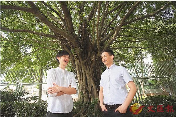 ■田家炳當年種下的樹苗,至今已成為參天大樹,其教育精神亦代代傳承。