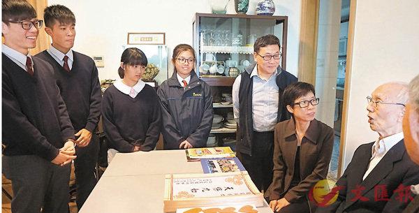 ■ 何詠詩的媽媽因為欣賞田老而為她選擇田中,幾年求學經歷讓她覺得「媽媽沒有選錯」。香港文匯報記者彭子文 攝