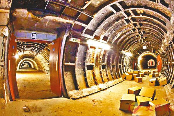 ■圖為地下綜合管廊。 網上圖片