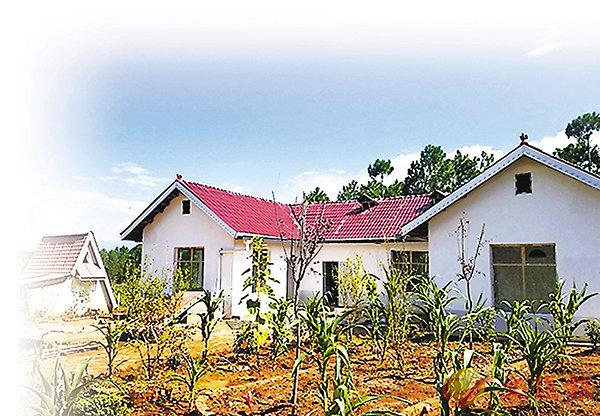 ■ 攝影師呂繼林為6個孤兒建造的新家。香港文匯報重慶傳真