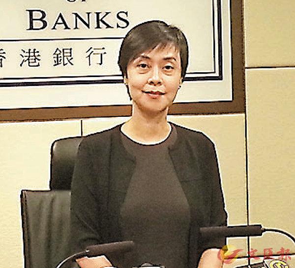 ■施穎茵認為,現時香港經濟發展仍然充滿機遇。 岑健樂  攝
