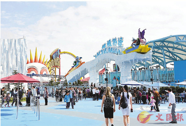 ■海洋公園相信高鐵開通後會吸引高鐵內地沿線遊客訪港。 資料圖片