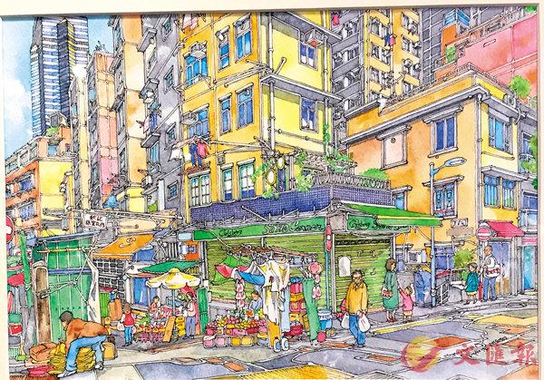 ■《蘇豪街景》