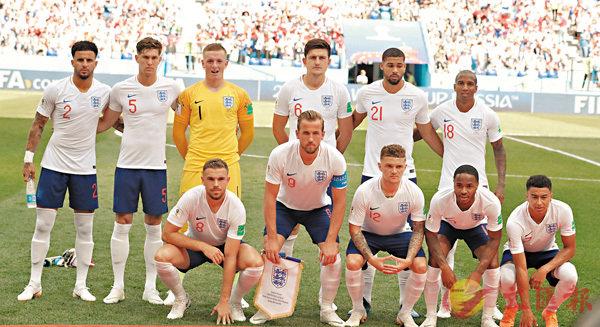 ■世界盃中,英國分四隊出戰,但只有英格蘭代表隊(圖)打入決賽周。 資料圖片