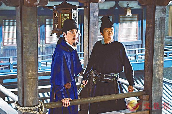 ■趙又廷(左)飾演的狄仁傑今集與由馮紹峰(右)飾演的尉遲真金兄弟情出現考驗。