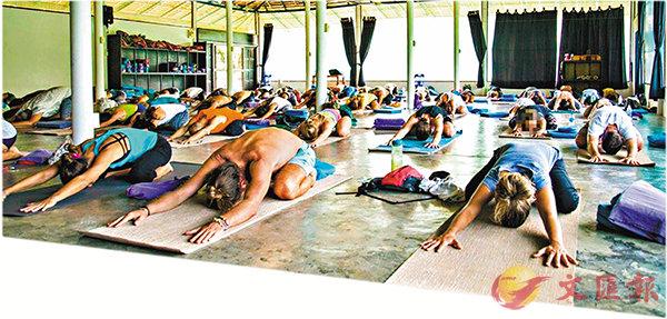 ■全球最大瑜伽學校之一的Agama瑜伽中心爆出性侵醜聞。 網上圖片