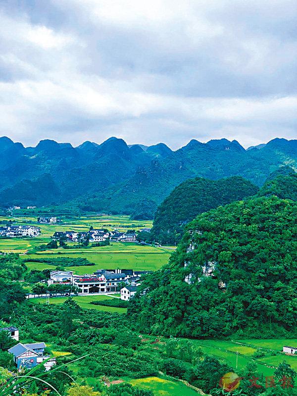 ■攝於貴州省黔西南州萬峰林。 作者提供