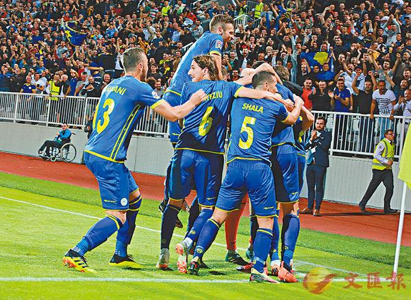 ■科索沃取得正式比賽首勝。 科索沃足總圖片