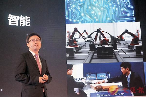 ■同方威視副總裁彭華稱,人體安檢即將迎來2.0時代。記者孟冰  攝