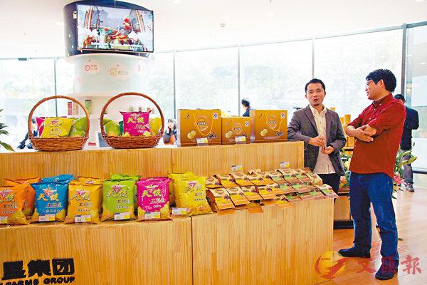 ■雲南高原特色農產品廣受市場歡迎。記者丁樹勇 攝