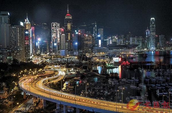 ■香港以夜景聞名,同時光污染亦是世界上最嚴重的地區之一。 資料圖片