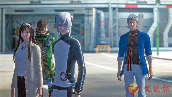 ■劇場版動畫《Infini-T Force - 飛鷹俠再見了朋友》集結了4個科幻英雄經典角色。