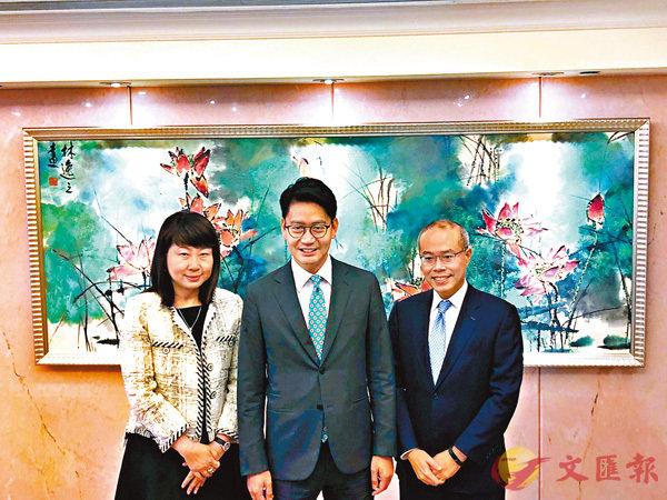 ■左起:王煥萍、李民斌、葉志衡。馬翠媚  攝