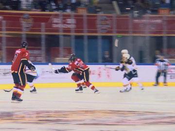 NHL中國賽深圳開打 香港冰球迷直呼熱血