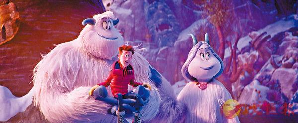 ■雪人米高(左)及女神美紫(右)是片中兩大主角。