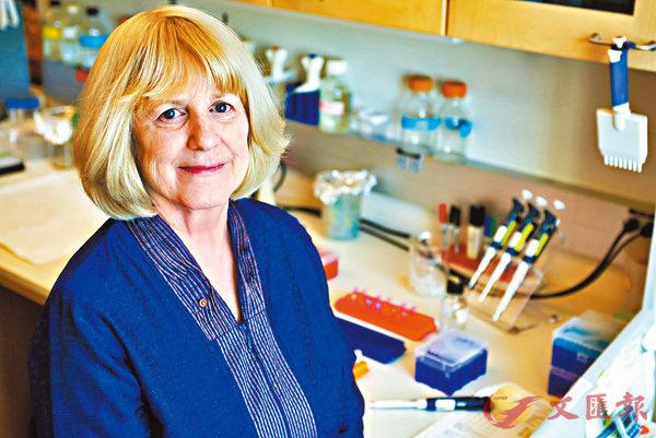 ■瑪莉-克萊爾•金為人類預防乳腺癌找到線索。受訪者供圖