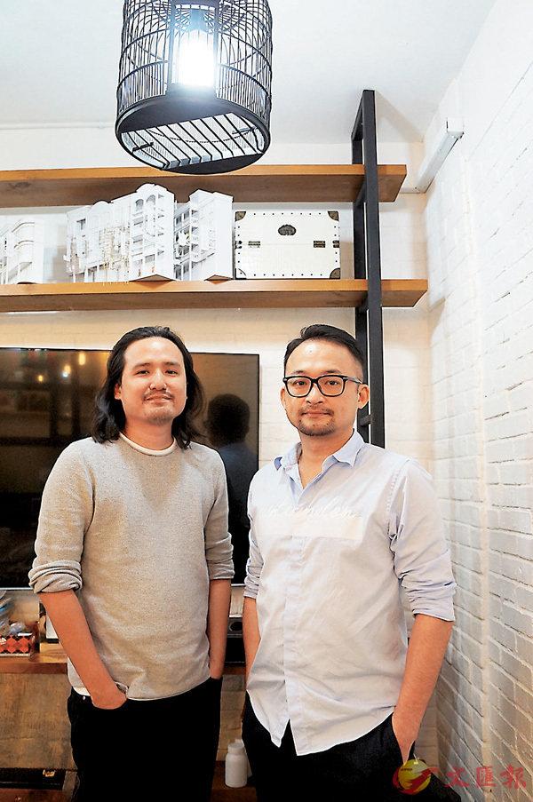 ■涂霆駿(左)及麥浩邦(右)首次擔正做導演。