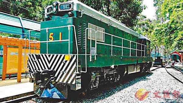■香港鐵路博物館一隅。 作者提供